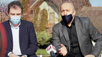 Alin Chipăilă și Vasile Dîncu. FOTO Paul Aleze