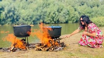 Sărbătoarea Borșului de Pește de la Crișan. FOTO Asociația Delta Dunării