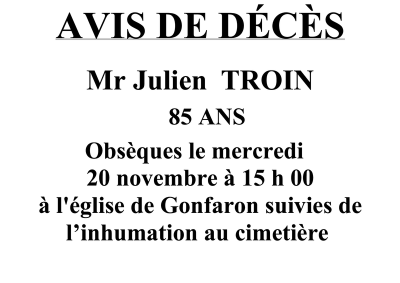 avis DC M. Troin