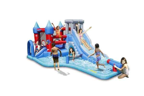 Gonfiabile acquatico vendita scivolo acqua estivo piscina multigioco