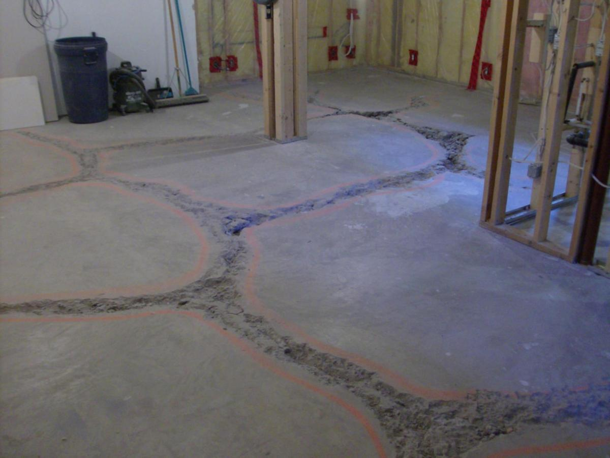 Basement Concrete Floor Paint Color Ideas 14