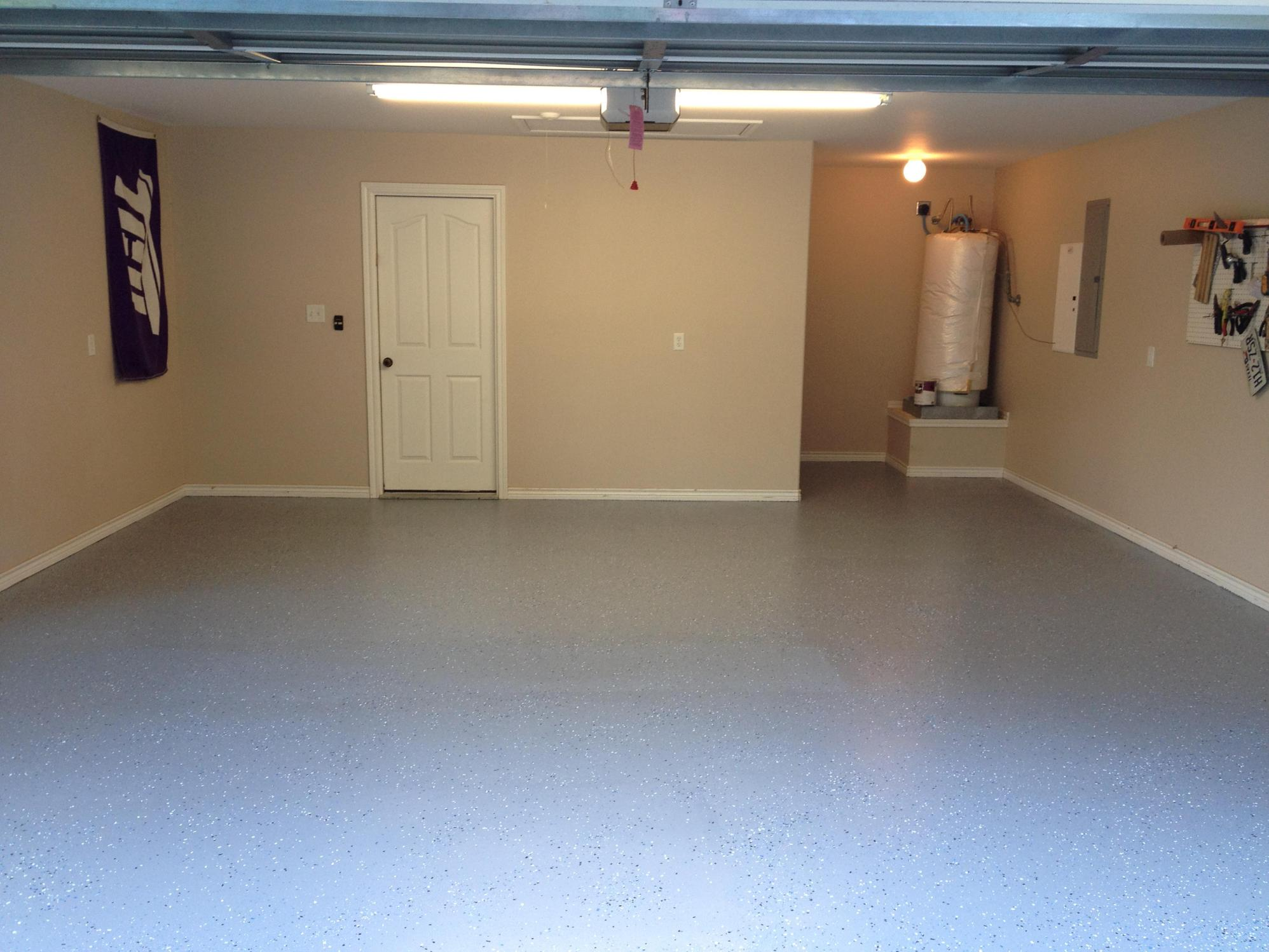 Basement Concrete Floor Paint Color Ideas 18