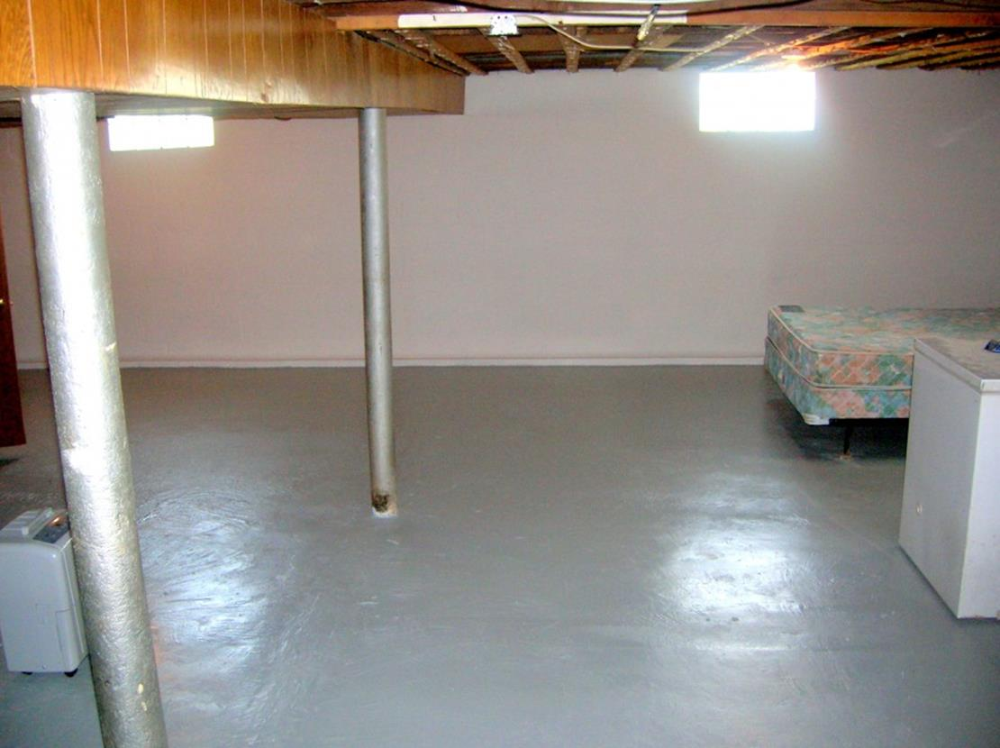 Basement Concrete Floor Paint Color Ideas 6