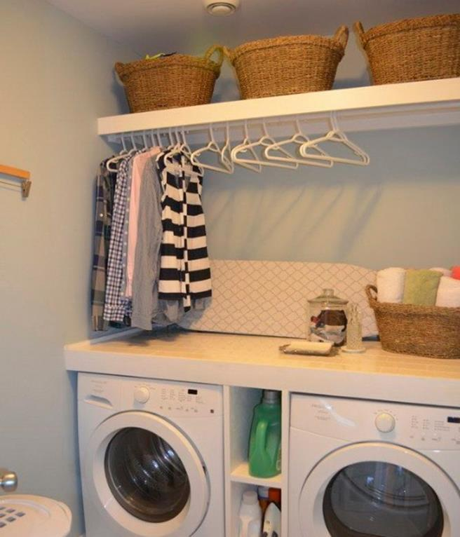 Best Paint Color For Small Laundry Room 29