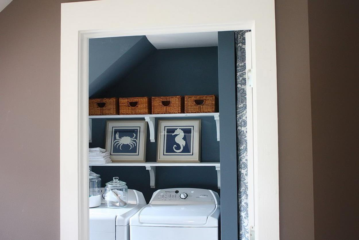 Best Paint Color For Small Laundry Room 34