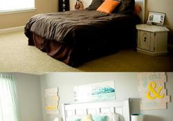 DIY Small Bedroom Makeover On a Budget 10