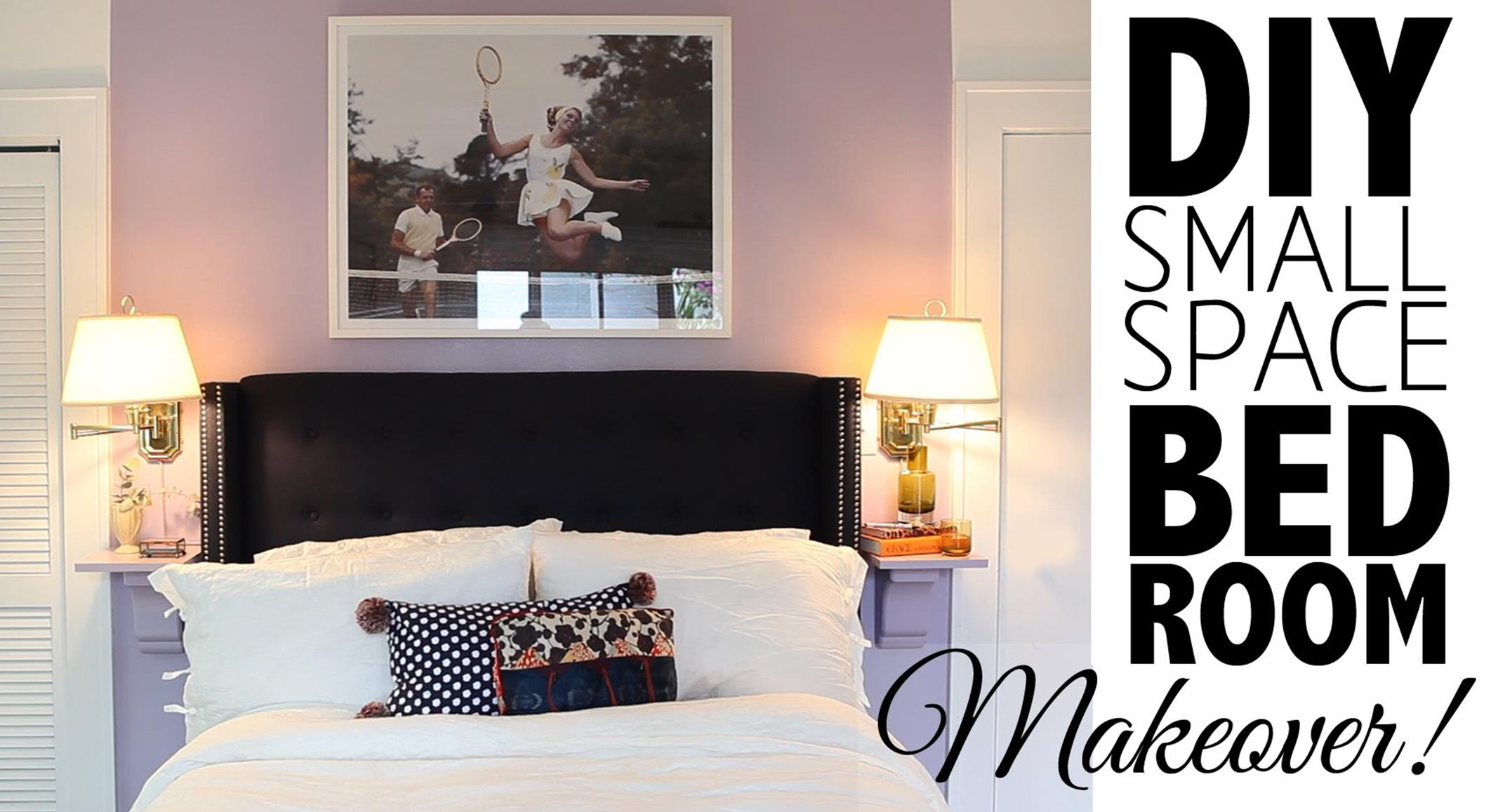 DIY Small Bedroom Makeover On a Budget 23