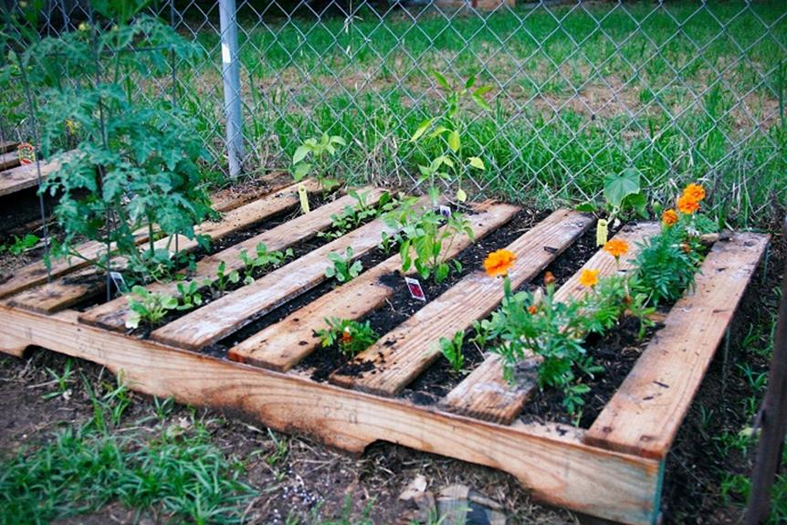 Easy Vegetable Gardening With Pallets 38