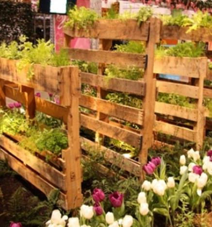Easy Vegetable Gardening With Pallets 6