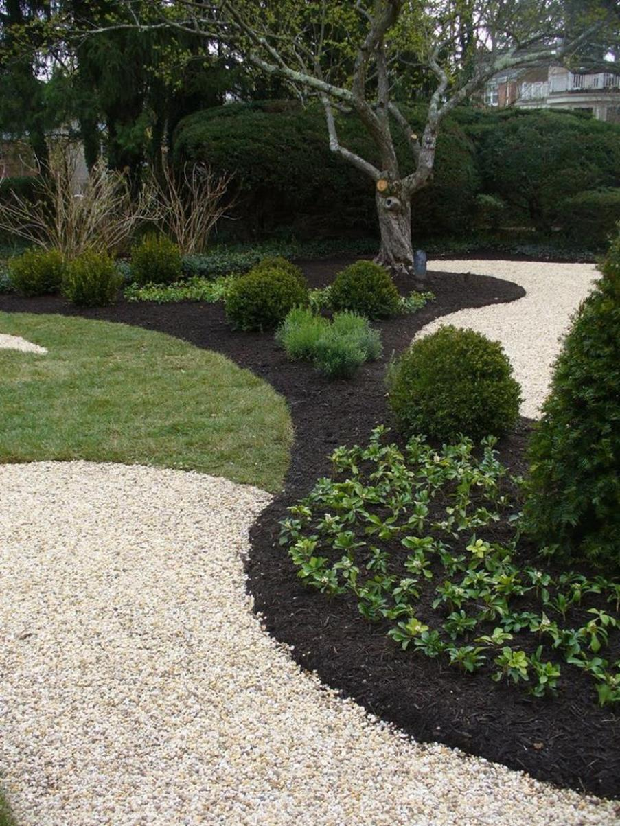 Landscaping Ideas With Rocks And Mulch 12