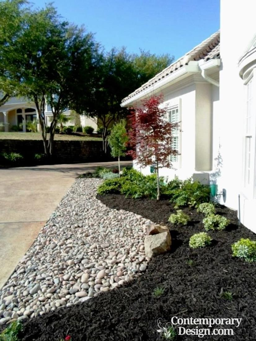 Landscaping Ideas With Rocks And Mulch 15