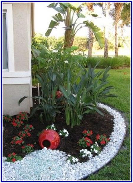 Landscaping Ideas With Rocks And Mulch 21