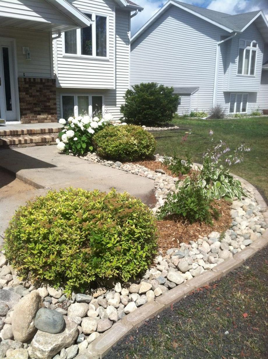 Landscaping Ideas With Rocks And Mulch 24