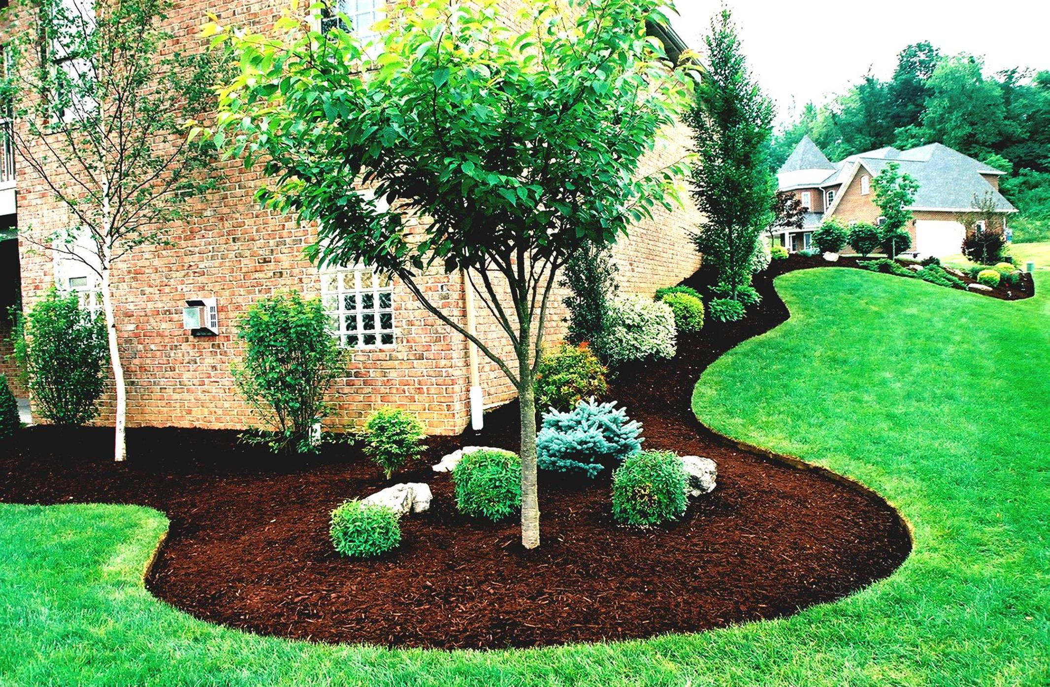 Landscaping Ideas With Rocks And Mulch 28