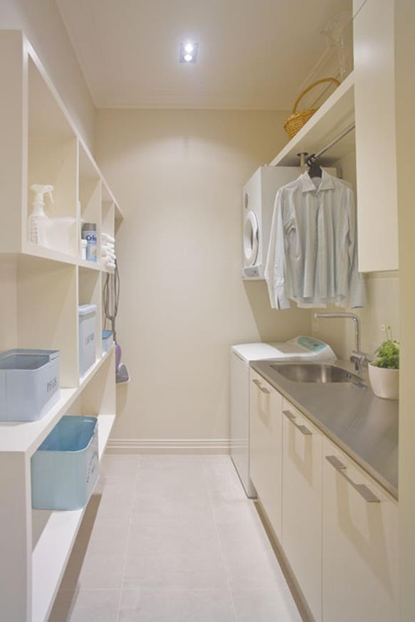 Laundry Room Hanging Rack Ideas 15