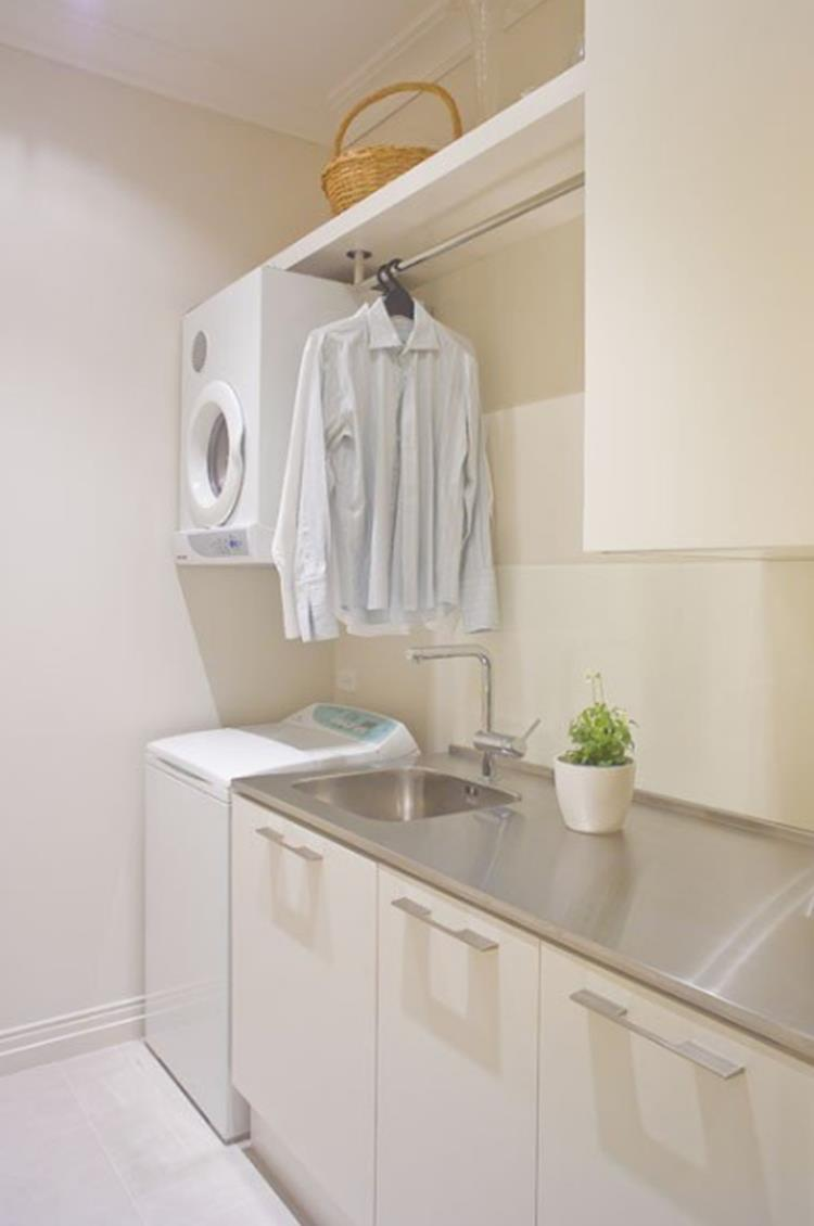 Laundry Room Hanging Rack Ideas 5