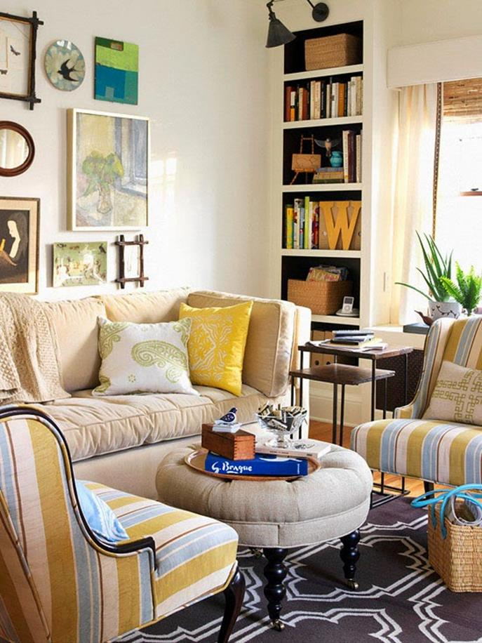 Living Room Furniture Ideas For Small Spaces 13