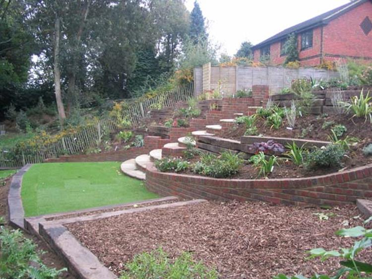 Perfcet Easy Garden Landscaping Design Ideas 1