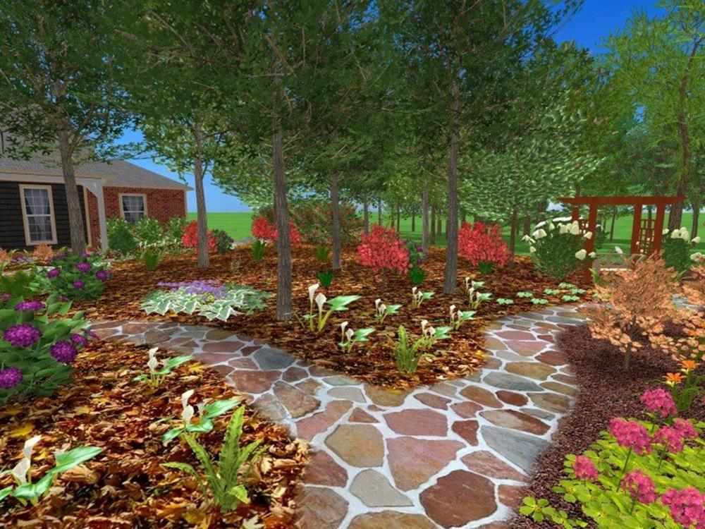Perfcet Easy Garden Landscaping Design Ideas 20