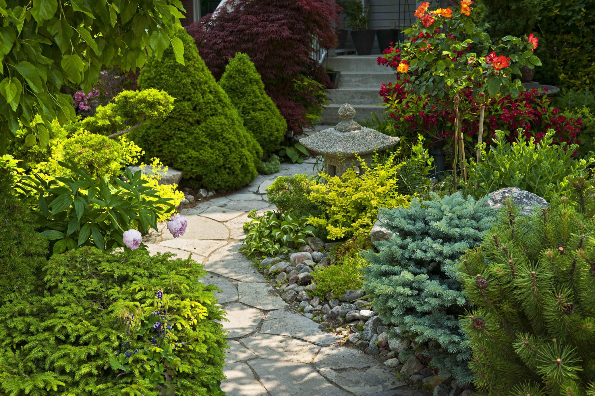 Perfcet Easy Garden Landscaping Design Ideas 21