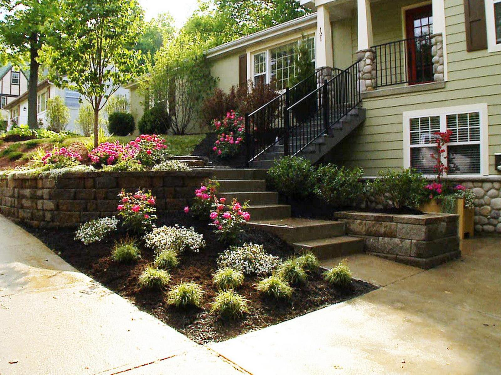 Perfcet Easy Garden Landscaping Design Ideas 36