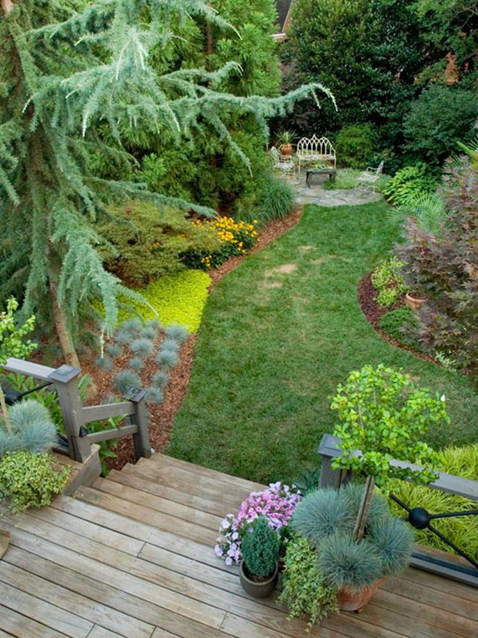 Perfcet Easy Garden Landscaping Design Ideas 5