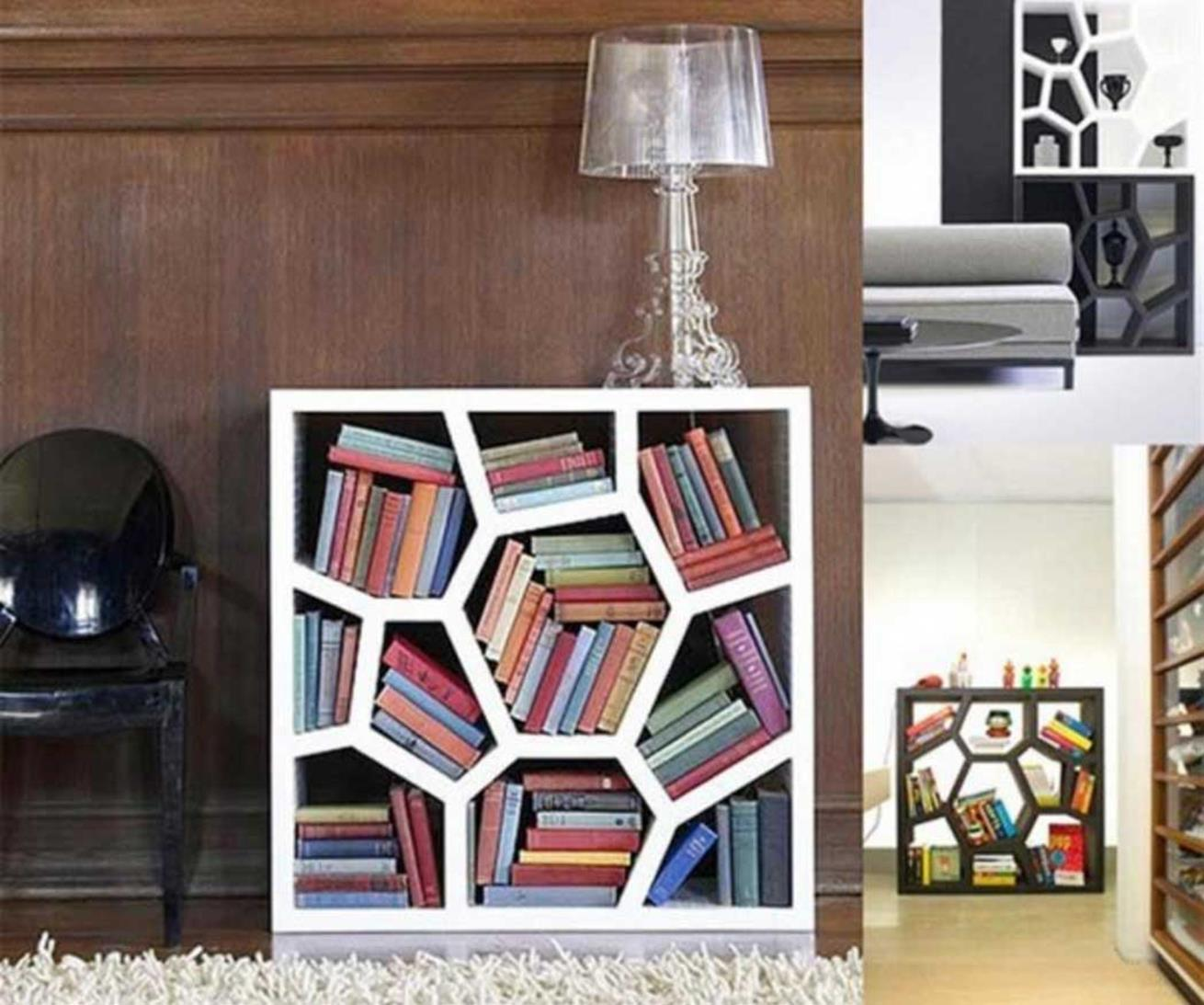 Perfect Bookshelves For Small Spaces and Decor Ideas 18