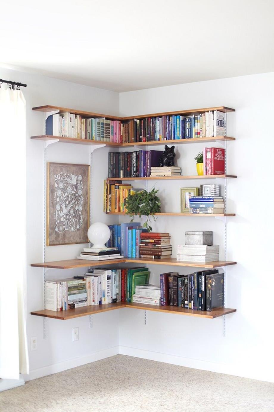 Perfect Bookshelves For Small Spaces and Decor Ideas 21