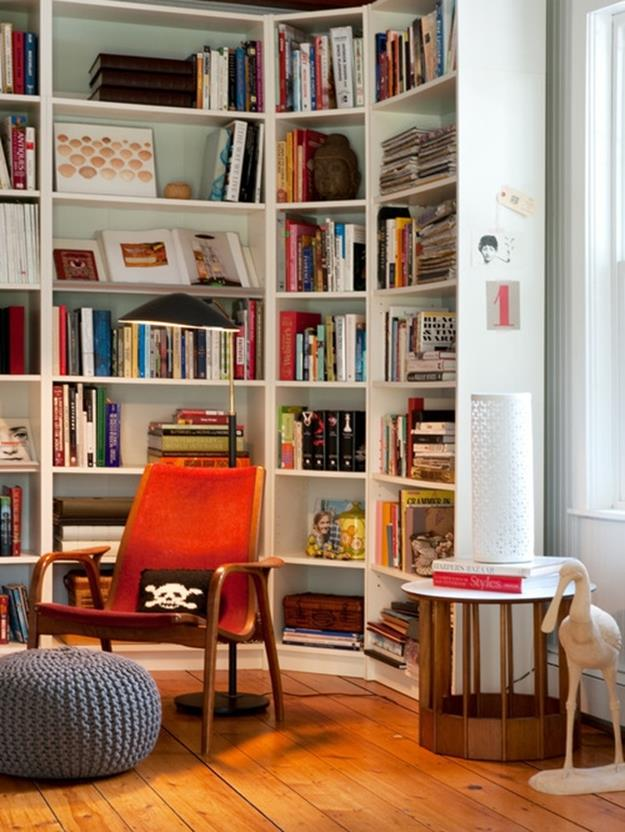 Perfect Bookshelves For Small Spaces and Decor Ideas 28