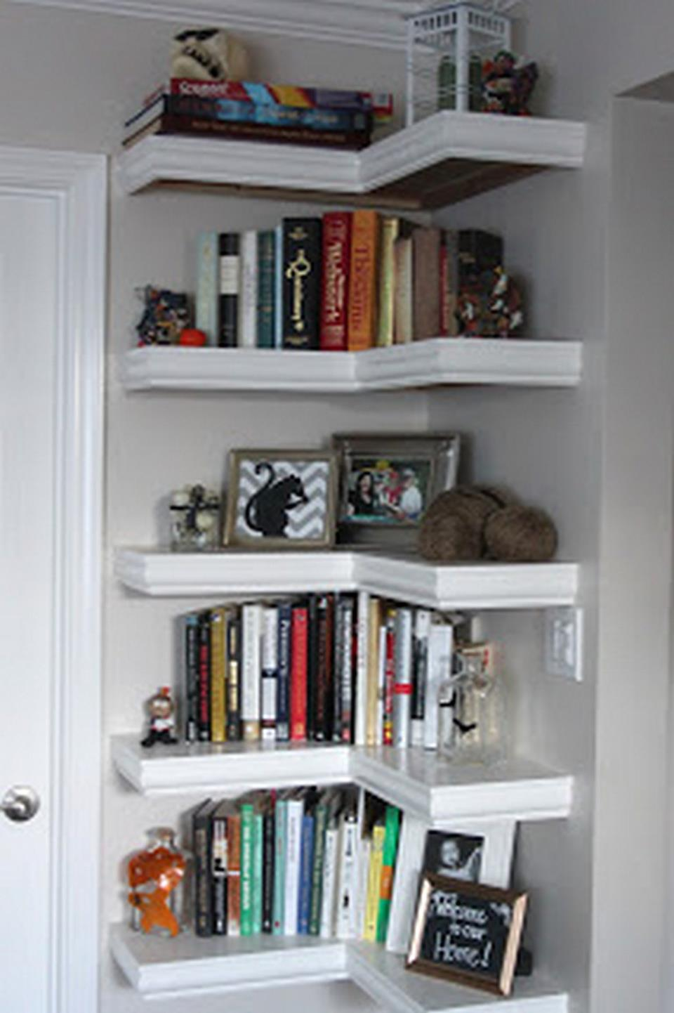 Perfect Bookshelves For Small Spaces and Decor Ideas 3