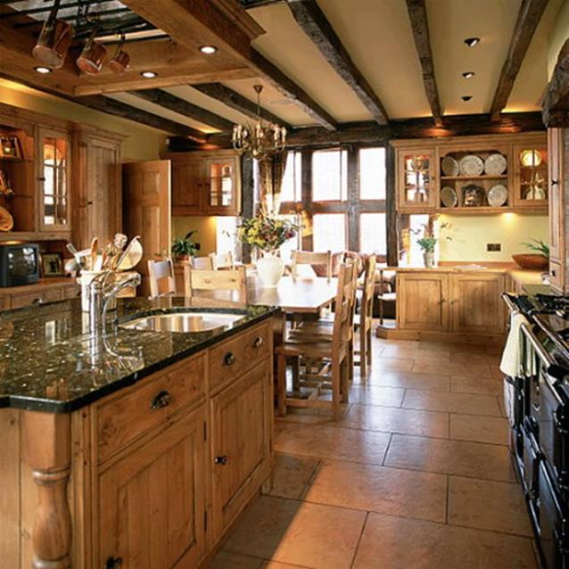 Small Country Kitchens Design and Decor Ideas 14