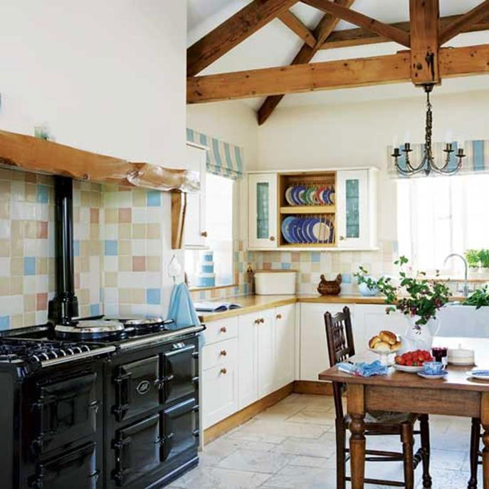 Small Country Kitchens Design and Decor Ideas 27