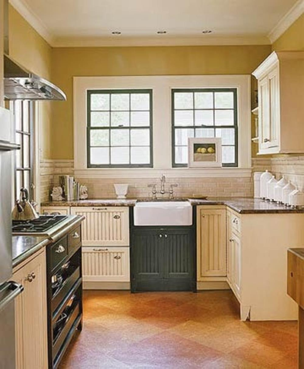 Small Country Kitchens Design and Decor Ideas 34