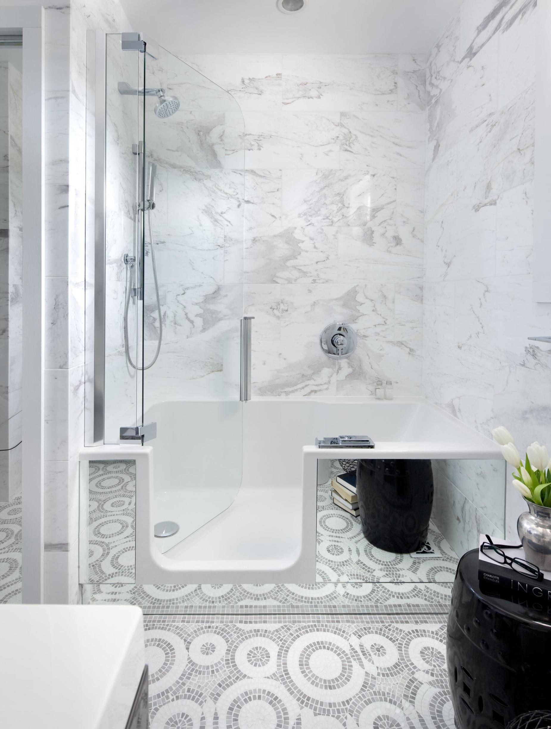 Spa Bathroom Remodel For Small Space 13