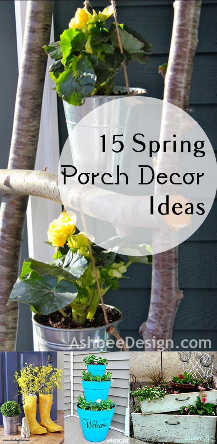 Spring Garden Decorating Ideas for Front Porch 5