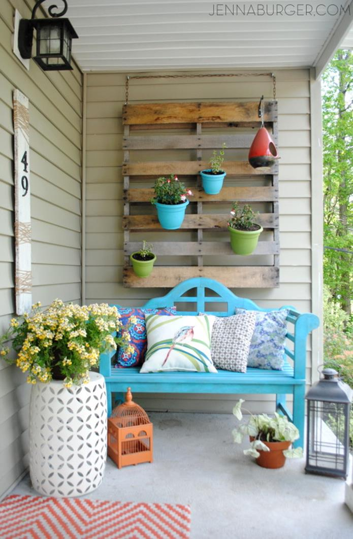 Spring Garden Decorating Ideas for Front Porch 7