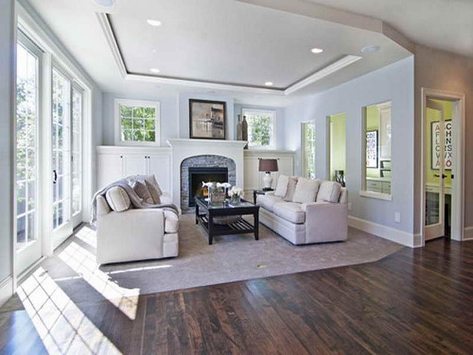 Traditional Farmhouse Interior and Exterior Colors Ideas 28