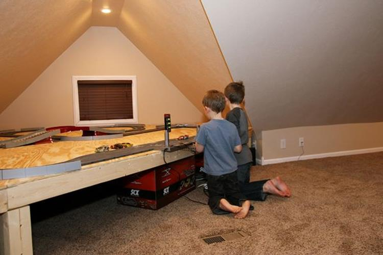 Walk Up Attic Remodeling Ideas 18