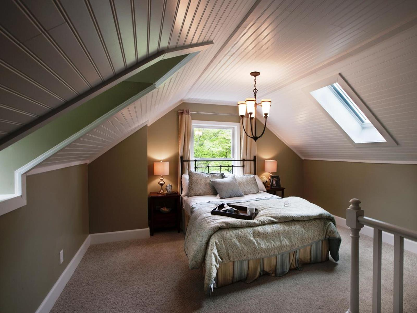 Walk Up Attic Remodeling Ideas 33