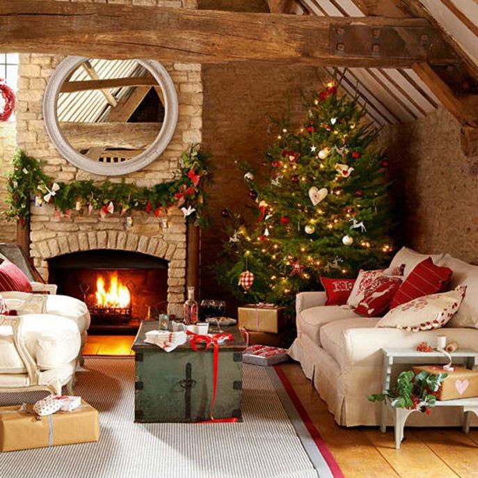 Country Style Living Room Decorating Ideas 10
