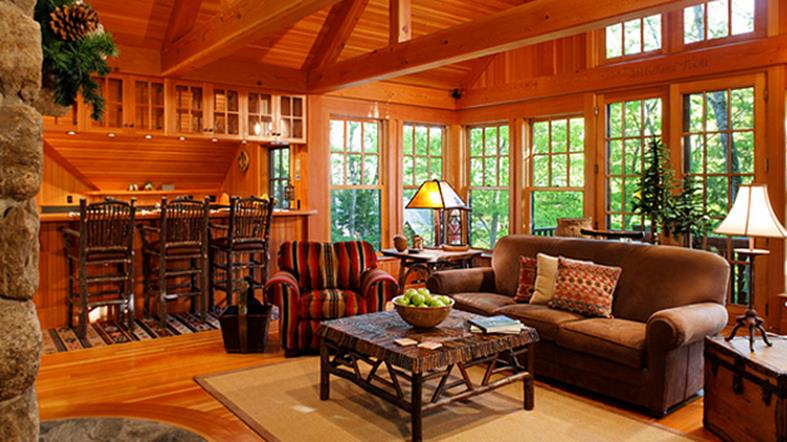 Country Style Living Room Decorating Ideas 19