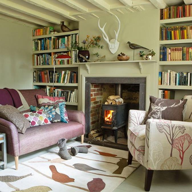 Country Style Living Room Decorating Ideas 2