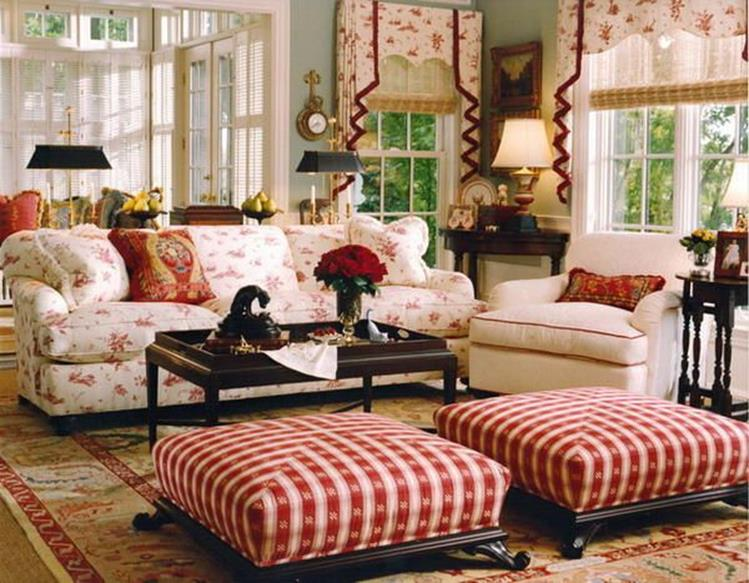 Country Style Living Room Decorating Ideas 24