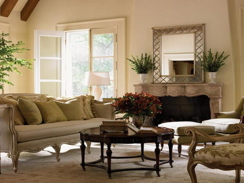 Country Style Living Room Decorating Ideas 29