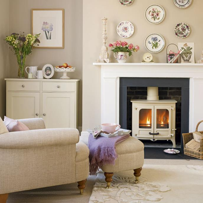 Country Style Living Room Decorating Ideas 3