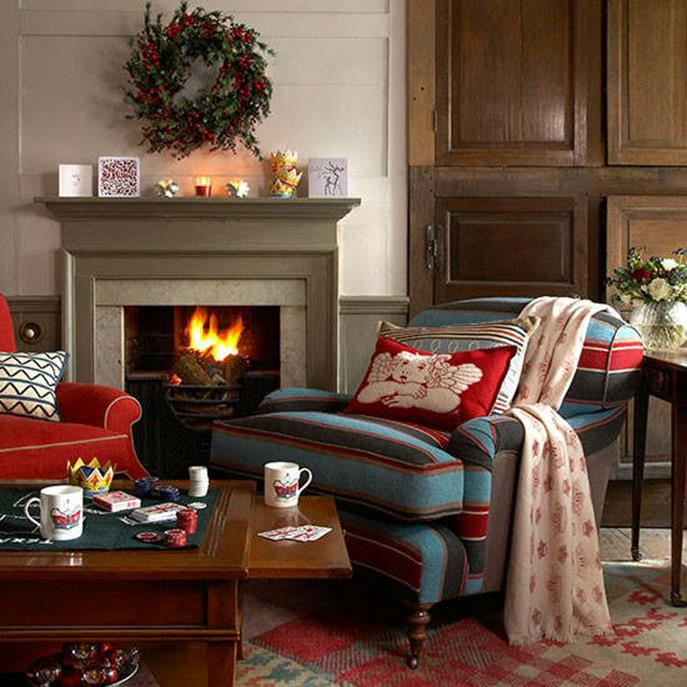 Country Style Living Room Decorating Ideas 9
