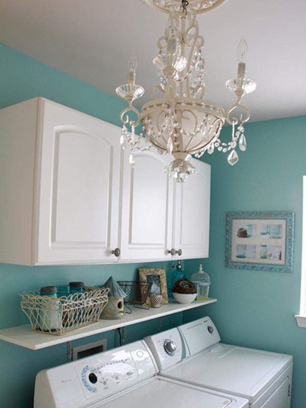Decorating A Laundry Room On A Budget 11