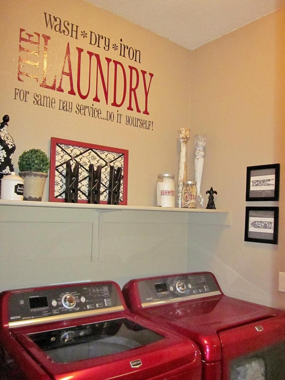 Decorating A Laundry Room On A Budget 18
