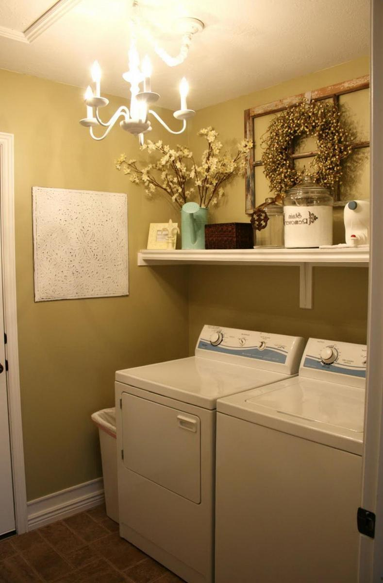 Decorating A Laundry Room On A Budget 23