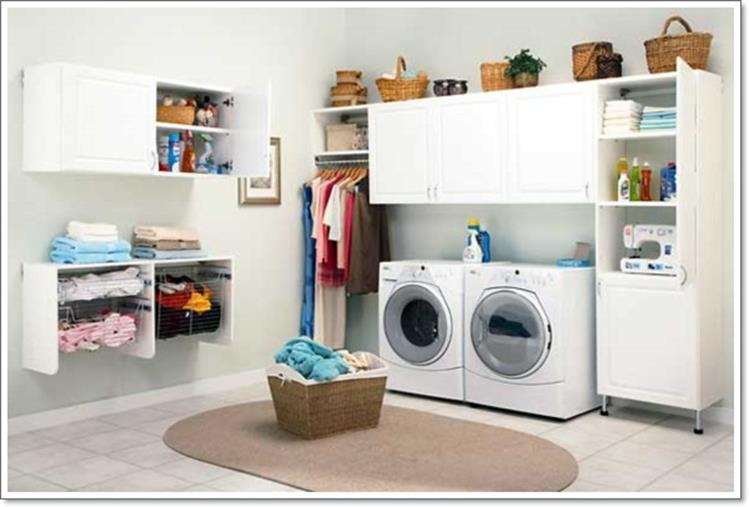 Decorating A Laundry Room On A Budget 36